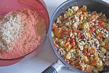 Aromatische Gemüsepfanne mit Couscous 7