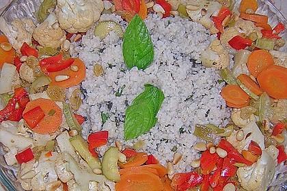 Aromatische Gemüsepfanne mit Couscous 5