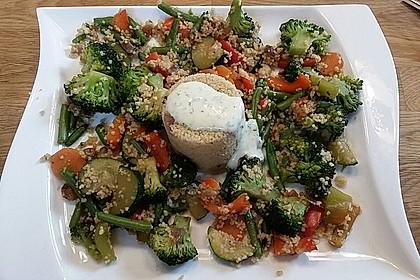 Aromatische Gemüsepfanne mit Couscous 2