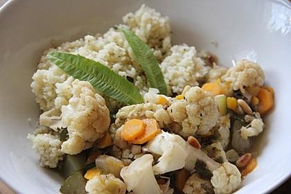Aromatische Gemüsepfanne mit Couscous 3