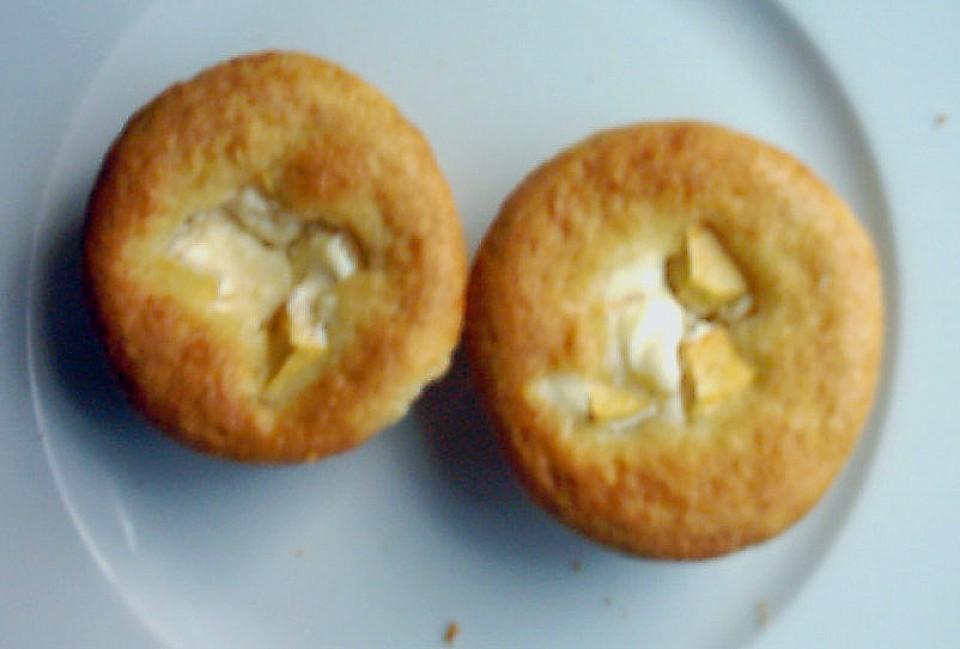 Kasekuchenmuffins Mit Obst Von Frosch18 Chefkoch De