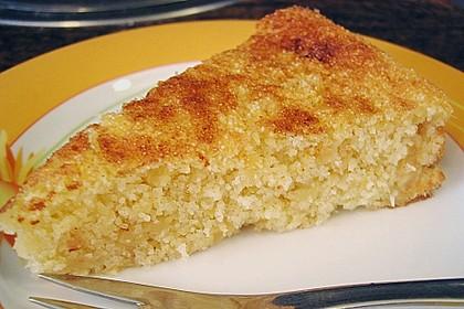 Apfel - Grieß - Kuchen (Bild)