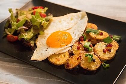 Bratkartoffeln vom Blech