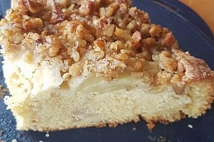 Apfelkuchen mit Walnuss - Kruste 36