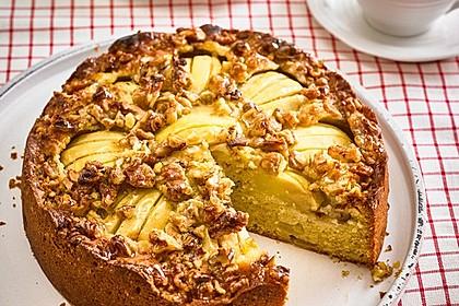 Apfelkuchen mit Walnuss - Kruste 17