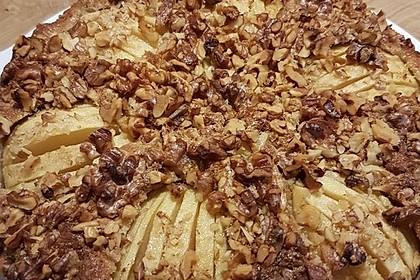 Apfelkuchen mit Walnuss - Kruste 33