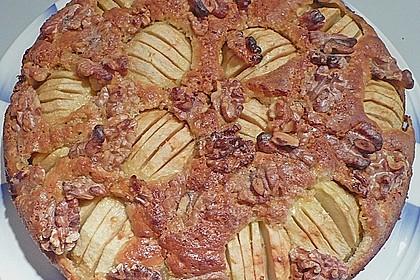 Apfelkuchen mit Walnuss - Kruste 23