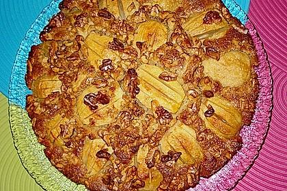 Apfelkuchen mit Walnuss - Kruste 34