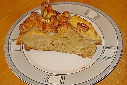 Apfelkuchen mit Walnuss - Kruste 28