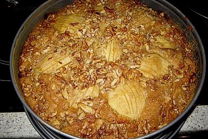 Apfelkuchen mit Walnuss - Kruste 32