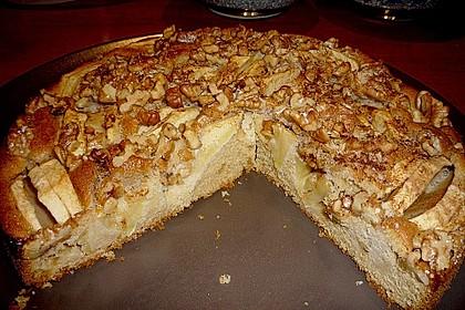 Apfelkuchen mit Walnuss - Kruste 22