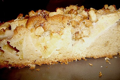 Apfelkuchen mit Walnuss - Kruste 44