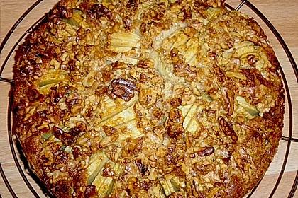 Apfelkuchen mit Walnuss - Kruste 14