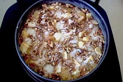 Apfelkuchen mit Walnuss - Kruste 50