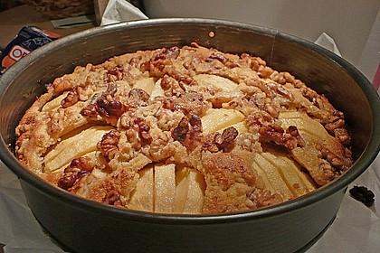 Apfelkuchen mit Walnuss - Kruste 29