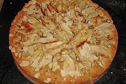Apfelkuchen mit Walnuss - Kruste 27