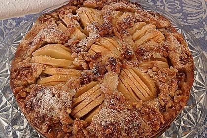 Apfelkuchen mit Walnuss - Kruste 6