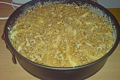 Apfelkuchen mit Walnuss - Kruste 47