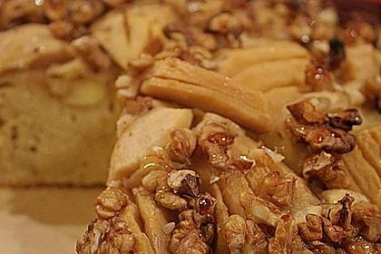 Apfelkuchen mit Walnuss - Kruste 11