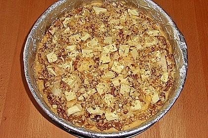 Apfelkuchen mit Walnuss - Kruste 45