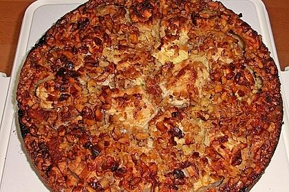 Apfelkuchen mit Walnuss - Kruste 25