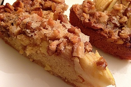 Apfelkuchen mit Walnuss - Kruste 3