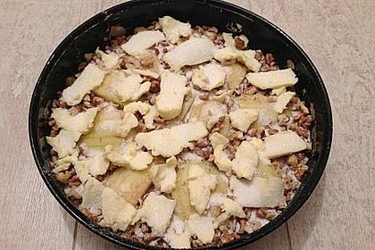Apfelkuchen mit Walnuss - Kruste 46