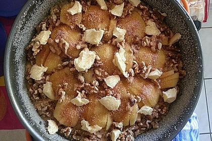 Apfelkuchen mit Walnuss - Kruste 49