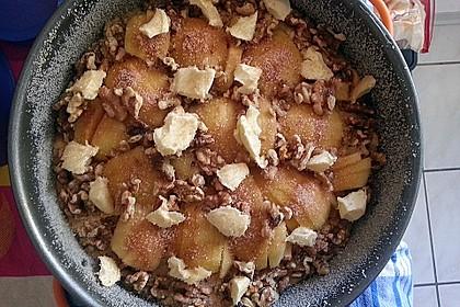 Apfelkuchen mit Walnuss - Kruste 51