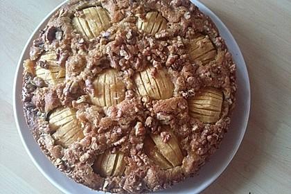 Apfelkuchen mit Walnuss - Kruste 39