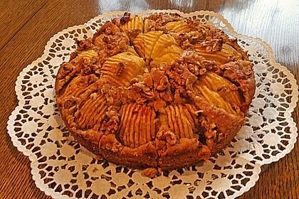 Apfelkuchen mit Walnuss - Kruste 40