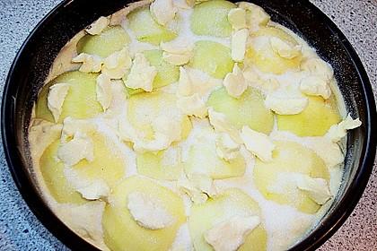 Apfelkuchen mit Walnuss - Kruste 48