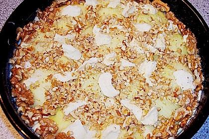 Apfelkuchen mit Walnuss - Kruste 19