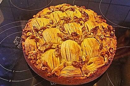 Apfelkuchen mit Walnuss - Kruste 41