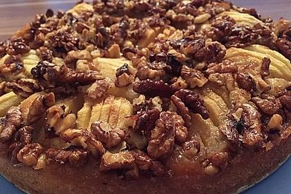 Apfelkuchen mit Walnuss - Kruste 5