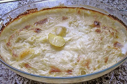 Béchamelkartoffeln mit Kohlrabi 4