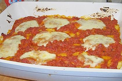 Gnocchi mit Mozarella überbacken 5