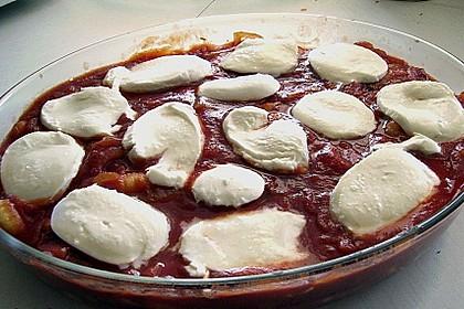 Gnocchi mit Mozarella überbacken 3