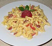 SABO - Spätzle mit Salami und Paprika (Bild)