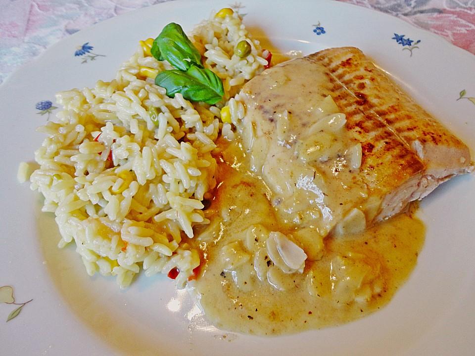 Wildlachsfilet In Honig Senf Sauce Von Mima53 Chefkochde