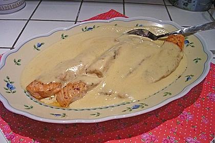 Wildlachsfilet in Honig-Senf Sauce 10