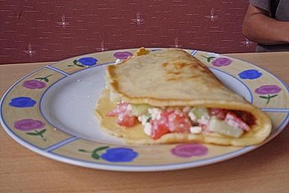 Gefüllter Pfannkuchen 1