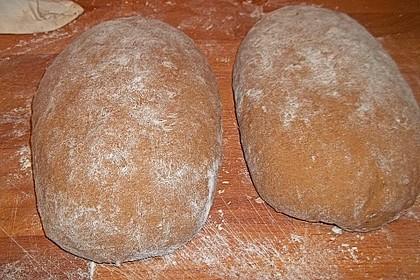 Würzig - malziges Roggenmischbrot mit Sauerteig 23