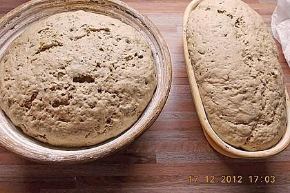 Würzig - malziges Roggenmischbrot mit Sauerteig 22