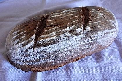 Würzig - malziges Roggenmischbrot mit Sauerteig 20