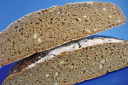 Würzig - malziges Roggenmischbrot mit Sauerteig 19
