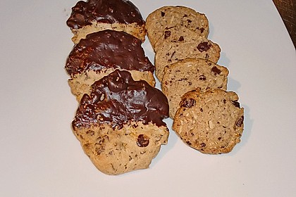 Schokoladen - Nussplätzchen 3