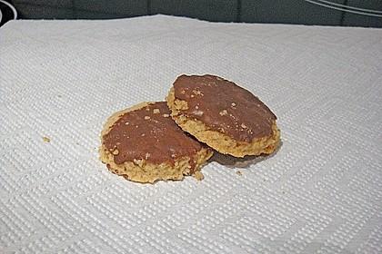 Schokoladen - Nussplätzchen 9