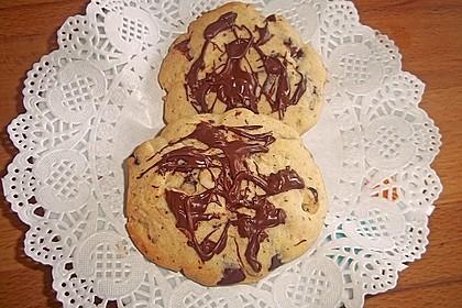 Schokoladen - Nussplätzchen 5