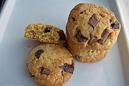 Schokoladen - Nussplätzchen 1